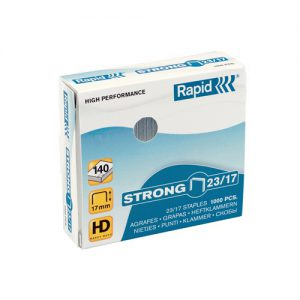 Rapid Strong 23/17mm 1000pcs staples